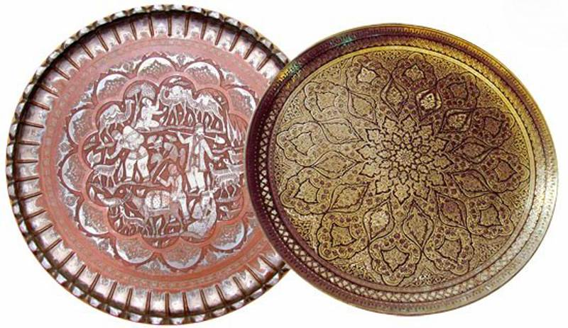 Persian metal engraving