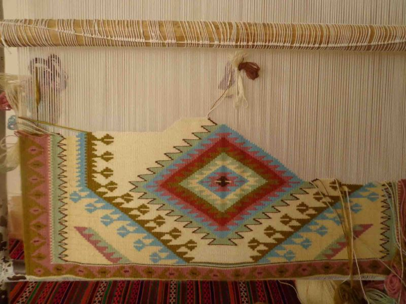 weaving Gelim in Qazvin province