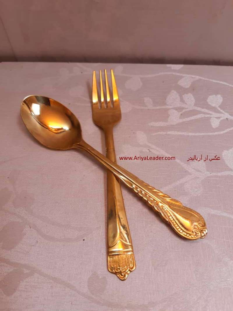 Spoon & Fork Brass at the best price code 5001
