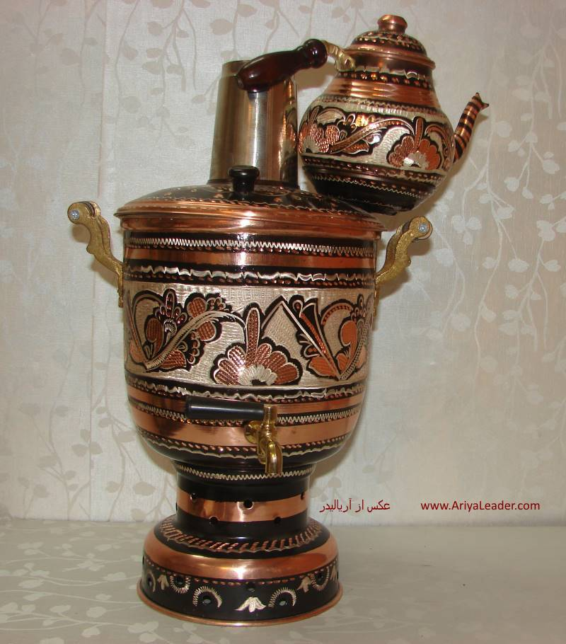 Specification and price Kettle and coal samovars Enamels Copper