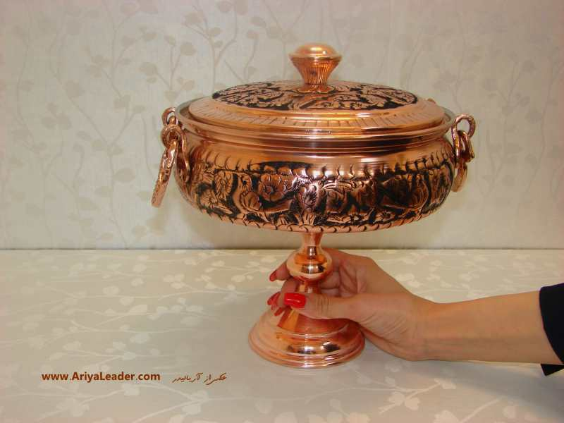 Copper Candy Container 3