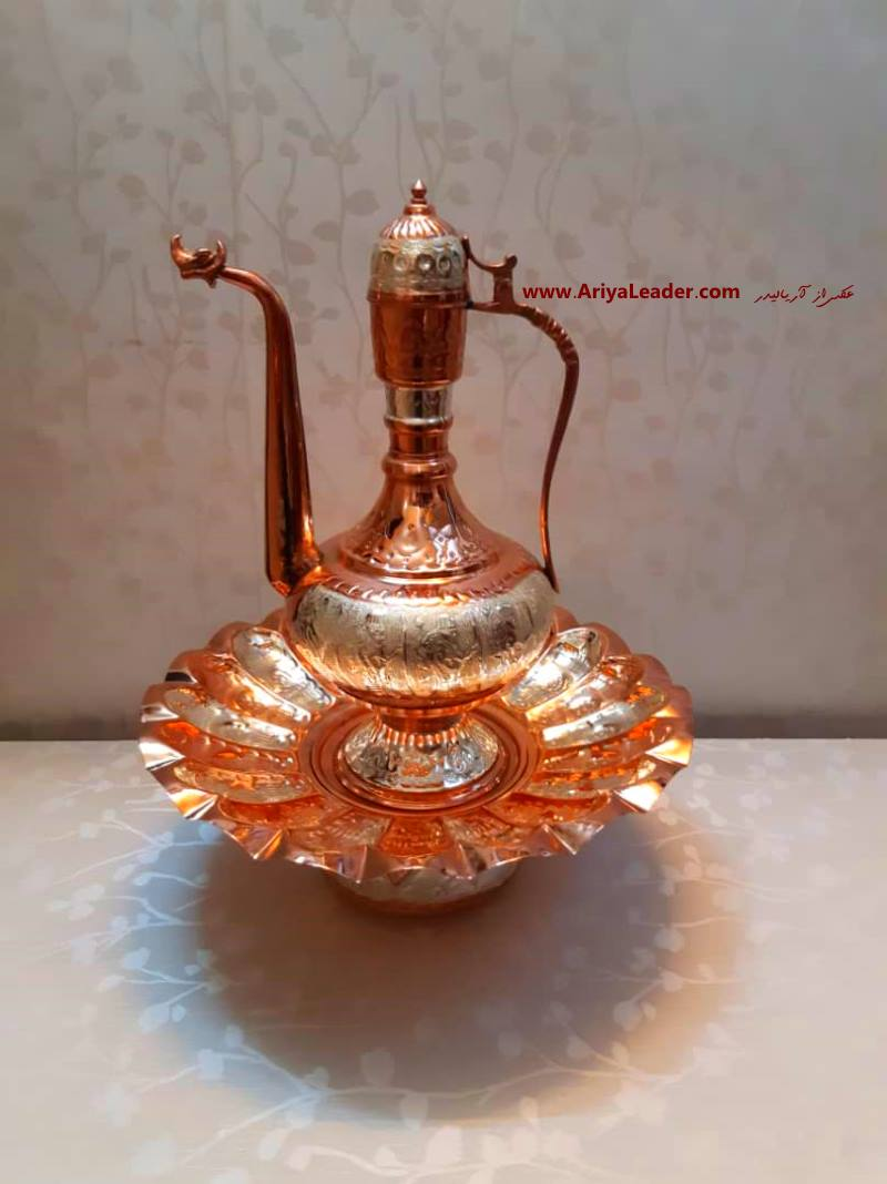 Copper and silver Rosewater Sprinkler