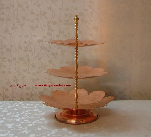Copper 3 Tier Dessert Stand new design at the best price